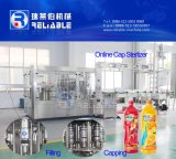 Automatic Pet Bottle zumo de naranja fresco de llenado en caliente de la máquina