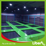 Various Gamesの開始Indoor Trampoline Center