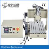 El aluminio metálico grabado de cobre de corte de la máquina CNC