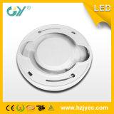 Neues 6W runde super dünne überzogene eingehangene LED Panellight (CER; TUV)