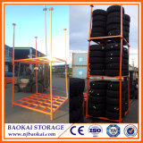 "60 "" x60 "" CollapsibleおよびStackable Passenger Tires Stacking Rack"