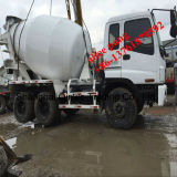 새로운 Gutters를 가진 6-8m3-Mixing-Drum 10PE1-Diesel-Engine Isuzu Cement Concrete Mixer Truck