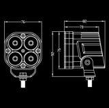 [4إكس4] [لد] عمل ضوء [40و] [كريس] 4200 تجويف صغير [لد] عمل ضوء [كريس] [10و] بصيلة سيّارة عمل ضوء [لد] [12ف]