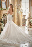 2017 Mermaid Lace Bridal Wedding Dresses 2871
