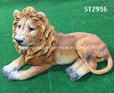 De Producten van het Decor van de Werf & van de Tuin van het huis & het Gebeeldhouwde Standbeeld van de Leeuw van de Wildernis van Giften Afrikaanse