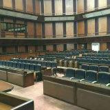 El asiento barato de la sala de conferencias de la alta calidad, asiento del auditorio, sillas de la sala de conferencias empuja detrás, silla del auditorio, asiento plástico del auditorio, asiento del auditorio (R-6173)