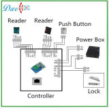 Lector de tarjetas pasivo del nuevo telclado numérico de la llegada RFID para el sistema del control de acceso de la puerta