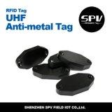 Estrangeiro passivo H3 ISO18000-6c do Tag do Anti-Metal da freqüência ultraelevada do ABS de RFID