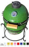 grade verde grande do BBQ do ovo de 13inch mini Kamado para a venda