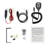 Das Smallest Design mit Fan 25W Dual Band VHF-UHF Mobile Radio Lt-725UV