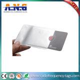Chemises de protection d'IDENTIFICATION RF de papier de papier d'aluminium d'impression de Cmyk