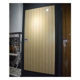 MDF UV da grão de madeira para a porta de gabinete da cozinha (ZH-3934)