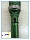 Tocha Multifunction do zoom da lanterna elétrica recarregável