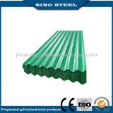 Chapa de aço ondulada galvanizada Prepainted para a folha da telhadura
