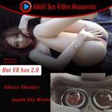 ビデオ日本セクシーな女の子のバーチャルリアリティのShineconのヘッドセット3D Vrボックス
