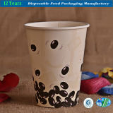 Tazas de papel de la categoría alimenticia para la bebida caliente