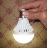 Luz ahorro de energía de la emergencia LED, bulbo recargable 7W del LED