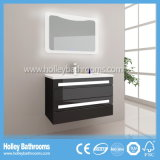 Bañera de luz LED táctil interruptor de alto brillo de pintura Gabinete de baño Muebles-B820d