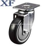 "Medium 5 "" 120kg Threaded Swivel PU Caster Wheel"