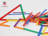 O teste padrão educacional por atacado popular do brinquedo obstrui o enigma para crianças