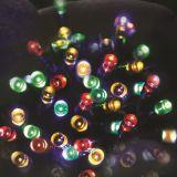 50の球根LED太陽妖精ストリングライトクリスマスの装飾