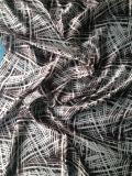 Напечатанная Silk сатинировка в картине Abstact