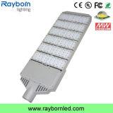 Luz de rua de alumínio pura IP65 do diodo emissor de luz do material 150W do corpo da lâmpada