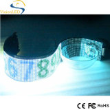 Signe flexible de P7.62 LED