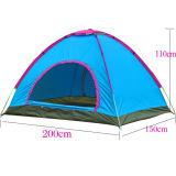 Automatisches 2 Personen-im Freien kampierendes Strand-wasserbeständiges Lichtschutz-Zelt
