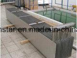 """Échangeur de chaleur de la Manche de largeur de plaque d'acier inoxydable de l'échangeur de chaleur de reprise de chaleur résiduelle «316 """""""