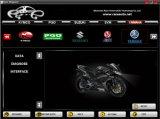 Reeks 7 Hulpmiddel van de Reparatie van de Motor van de Scanner van de Motorfiets van Merken het Kenmerkende