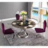 結婚式(HW-YH33C)のための椅子を食事する上品なステンレス鋼のホテル