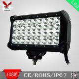 オフロード手段(HCB-LCB1084)のための108W 4列LED車のライトバー