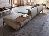 Sofa de cuir véritable pour la maison ou l'hôtel (GLS-010)