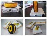 Berufsfabrik-billig Großverkauf fertigt weiche Belüftung-Draht-Markierungs-/Plastikkabel-Markierungs-angemessenen Preis kundenspezifisch an