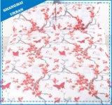 桜ポリエステル柔らかいMicrofiberの羽毛布団カバーセット