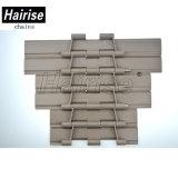 Encadenamiento plástico de la tapa del transportador de la cinta de la categoría alimenticia (Har821-k1000)