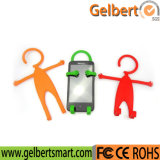 Suporte flexível universal do móbil do silicone do dispositivo dos acessórios do telefone
