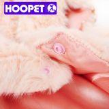 분홍색 가짜 모피 고양이 조끼, 싼 작은 강아지 옷