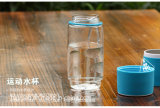 3 in 1 altoparlante di Bluetooth della bottiglia di acqua di Powerbank della bottiglia di acqua