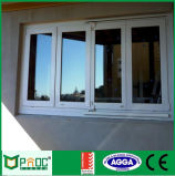 Aluminium poco costoso Glass Folding Window con Double Glass
