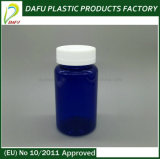 Bottiglia blu della plastica di colore dell'animale domestico 250ml