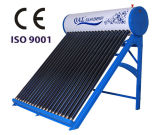 Non chauffe-eau à énergie solaire coloré de pression