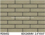 Exterior Wall Brick 60*240mm Rd6452のための粘土Split Tile