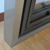 Guichet en aluminium de pivot de centre de profil/Windows en aluminium Kz126