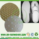 Anti-Skid Nonwoven ecologico Fabric per Disposable Shoes