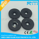 Hard ABS Coin 125kHz Tk4100 Chip RFID Tag para ID Tracking