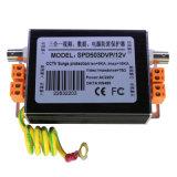 Dispositifs de protection contre la foudre de protecteur de montée subite de signaux vidéo de télévision en circuit fermé (SPD503DVP/12V)