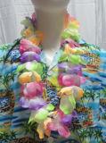 De wit Slinger van Hawaï/Hawaï Leis