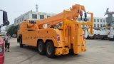 HOWO 6X4 30トンの道のレッカー車のレッカー車